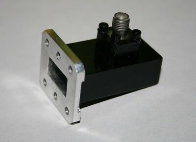 WR137 / WR112 / WR90 / WR75 / WR62 Waveguide Adapter to N / SMA ( amphenol) new
