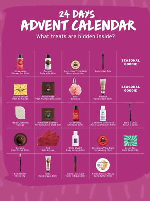 Body Shop 24 Days of Beauty Advent Calender