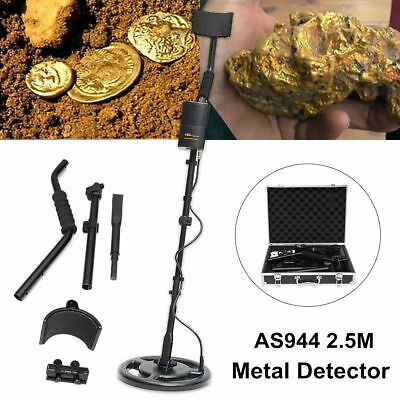 AS944 2.5M Underground Silver Metal Detector Gold Digger Treasure Hunter DS