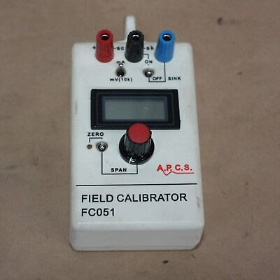 A.P.C.S Analog Process Control Services Pty Ltd. FIELD CALIBRATOR FC051 FC051D