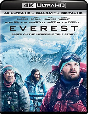 EVEREST (BLU-RAY/4KUHD MASTERED/ULTRAVIOLET/DIGITAL HD) (US IMPORT) Blu-Ray NEW