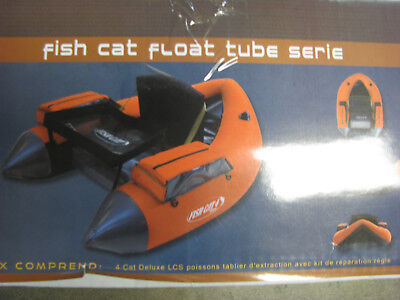 Orange Low International Shipping Rates! Outcast FISH CAT 4 DELUXE Float Tube