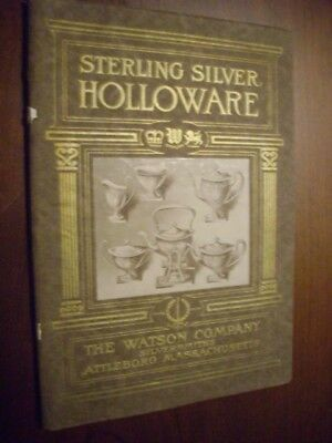 19 Very Early Watson Company Silversmiths Catalog with Supplement