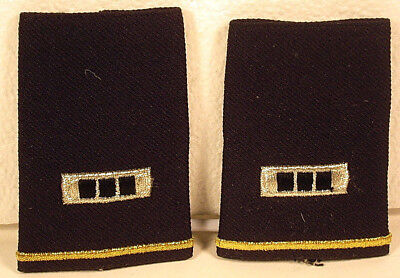 US Army CWO-3 Epaulet Soft Shoulder Boards Small Size for Dress Blues