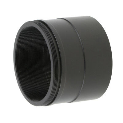 "Universal 2"" to T2 M48*0.75 Adapter w/ Thread for Telescope Eyepiece -Black"