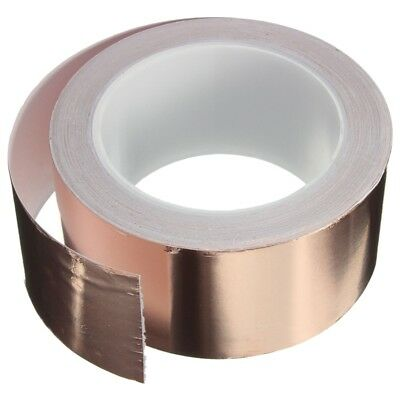 Copper Foil Tape - (50mm x 20m) - EMI Shielding Conductive Adhesive for Sta R6E6