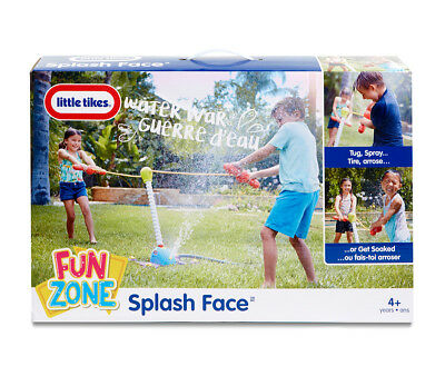 LIttle Tikes Fun Zone Splash Face Outdoor Water Toy - Brand New & Boxed