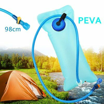 2L Cycling Water Bag Reservoir Bladder Hydration Pack Hiking Camping Sports BT
