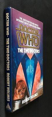 Doctor Who - The Two Doctors - 1985 W H Allen Hardcover Hardback Robert Holmes