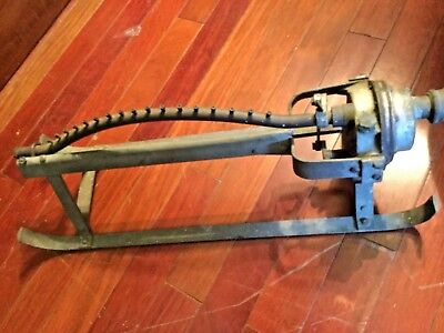 ANTIQUE VINTAGE iron lawn sprinkler by campbell irrigation no 7 Woodbury n.j.