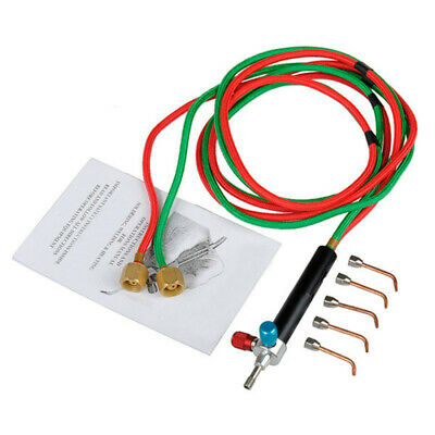 Micro-Gas Torch Mini Gas Little Torch Welding Soldering Kit With 5 Tips Wel M2W3