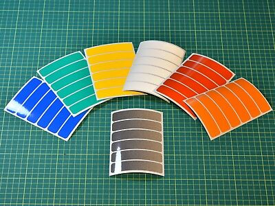 Reflective Strips Stickers for Motorbike Cycle Safety - Hi-vis High Visibility