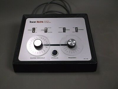 Tracor Ra214 Rudmose Audiometer 30 Day Warranty
