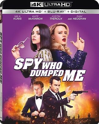 The Spy Who Dumped Me (4K Ultra HD)(UHD)(Atmos)(Dolby Vision)