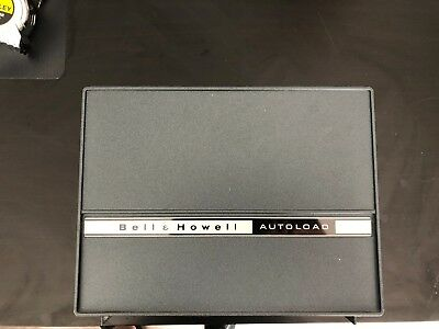Bell & Howell Autoload Dual Movie Projector-Compatible with 8mm and super 8 film