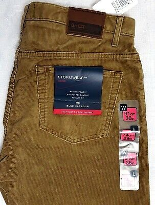 # Marks & Spencer Men's Trousers Jeans Cord Corduroys Camel Brown