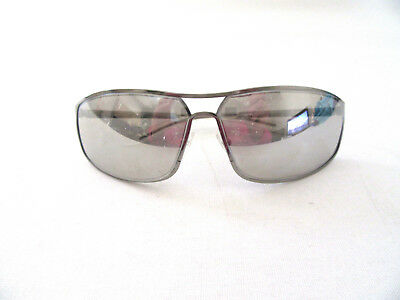 06fe7154e4ad2 Auth CHRISTIAN DIOR Unisex Aviator Style 6LBVS Silver Mirrored Lens  Sunglasses