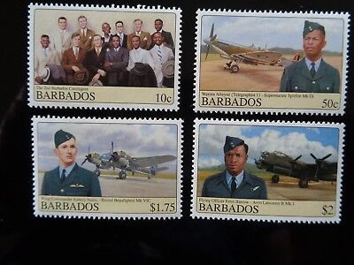 BARBADOS 2008 RAF 4v SET MINT MNH