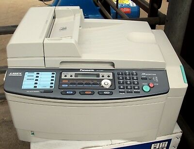 Panasonic KX FLB851E Multi Function Laser Fax with sorter To clear