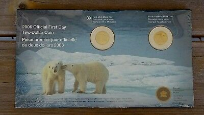 2009 Canada 2 Two Dollar Toonie Brilliant Uncirculated Canadian Coins Last Set!