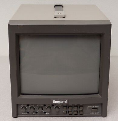 """Ikegami TM9-1 9"""" CRT Color Video Monitor - #1"""