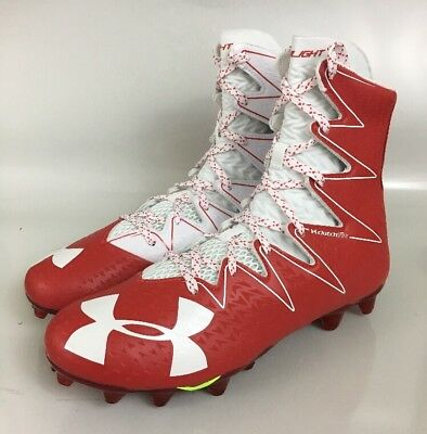 cfc7c2516ccd Under Armour Highlight MC Football Cleats 1269693-611 Red White Multiple  Sizes