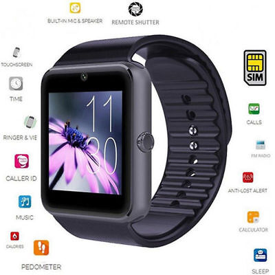 Orologio da polso Intelligente TELEFONO SMARTWATCH OF ANDROID IOS BLUETOOTH GT08