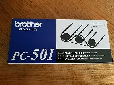 Brother Genuine PC-501 Thermal Fax 575 Ink Toner cartridge
