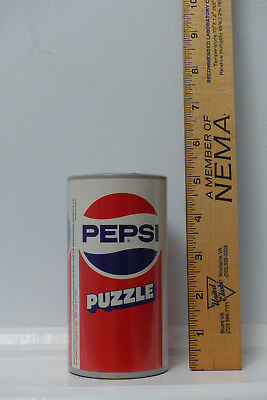Pepsi-Cola Full Size Soda Can Puzzle Bank 1980's-Brand New Still Plastic Wrapped
