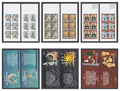 FAROE ISLANDS / FOROYAR 1999-2001 CHRISTMAS BOOKLETS @ ONLY 60% of FACE VALUE