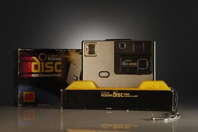 Vintage Kodak Disc 4000 Camera With Original Box