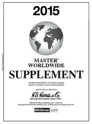 HE Harris Stamp Album Supplement Pages Master Worldwide 2015 New Pack