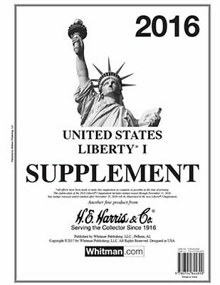HE Harris Stamp Album Supplement US Liberty 1 2016 Issue New Pack Free Shipping