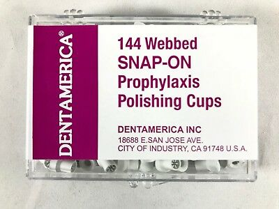 Dental Polishing Prophy Prophylaxis Cups Snap On - Dentamerica