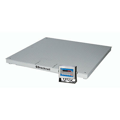 """Brecknell DCSB Low Profile Deluxe Display Pallet Scale 60"""" x 60"""" 5000 Lb x 1 Lb,"""