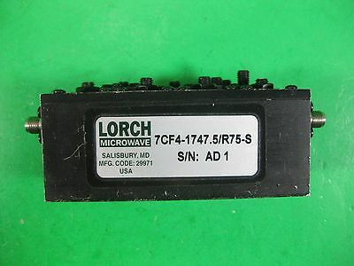 Lorch Microwave 7CF4-1747.5/R75-S Used