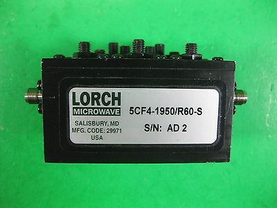 Lorch Microwave 5CF4-1950/R60-S Used