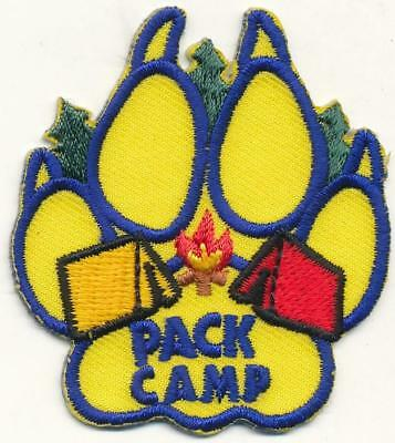 Girl Boy Cub Camp PACK CAMP Camping Patches Crests Badges SCOUTS GUIDES camp out
