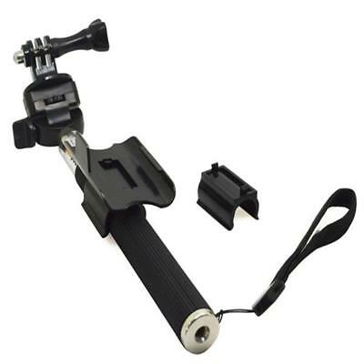 Selfie Stick WiFi Remote Control Clip Clamp Holder for GoPro Hero 4 / 3+ / 3