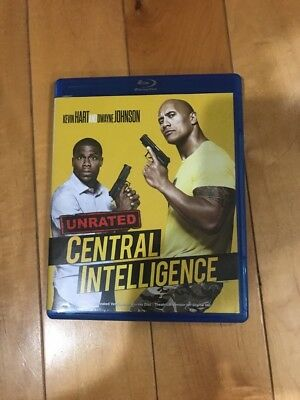 Central Intelligence [Blu-Ray] FREE SHIPPING