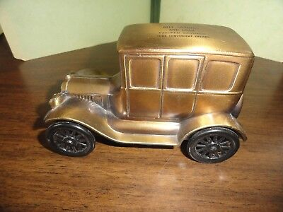 1926 Ford Model T Car Coin Bank In By Banthrico For Bell Savings