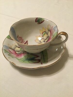 VINTAGE MERIT MADE In Occupied Japan Cup & Saucer