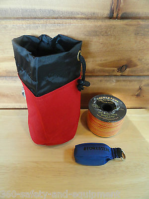 Arborist Tree Workers Throw Line Kit Rope Bag 1-9OZ Bag and 166' of Throw Line
