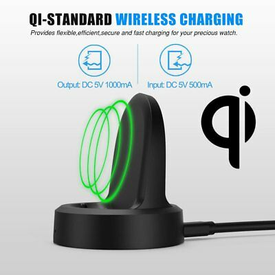 For Samsung Gear S3 Smart Watch Wireless Charging Dock Magnetic Cradle Charger A
