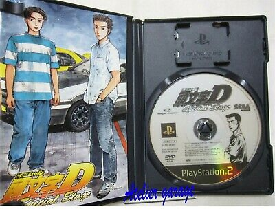 Airmail 7-14 Days to USA. USED PS2 Initial D Special Stage SEGA Japanese Version