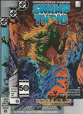 SWAMP THING lot 42,48,50,52,54-58 (1986)1st Justice League Dark Alan Moore VG/VF