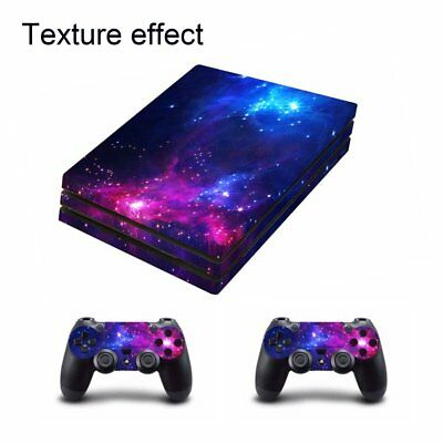 Waterproof Body Vinyl Skin Sticker Decal Cover PS4 Pro Console Controllers AZ