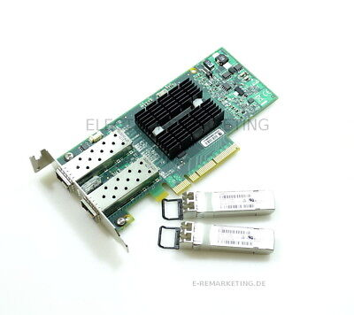 Mellanox ConnectX-2 PCIe Low Profile + 2 x GBIC 10Gbit 455885-001