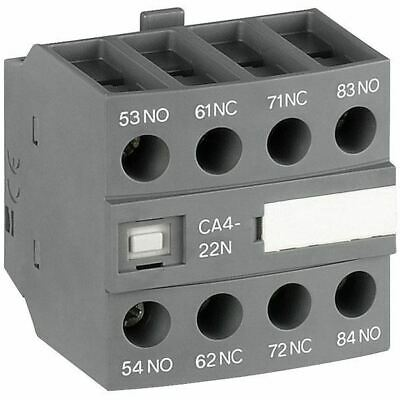 ABB CA4-22N 4-pole Auxiliary Contact Block