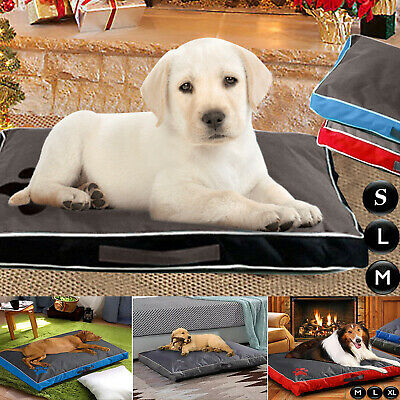 Deluxe Soft Waterproof Dog Pet Warm Bed Mattress Cushion Double Sided Pillow Mat